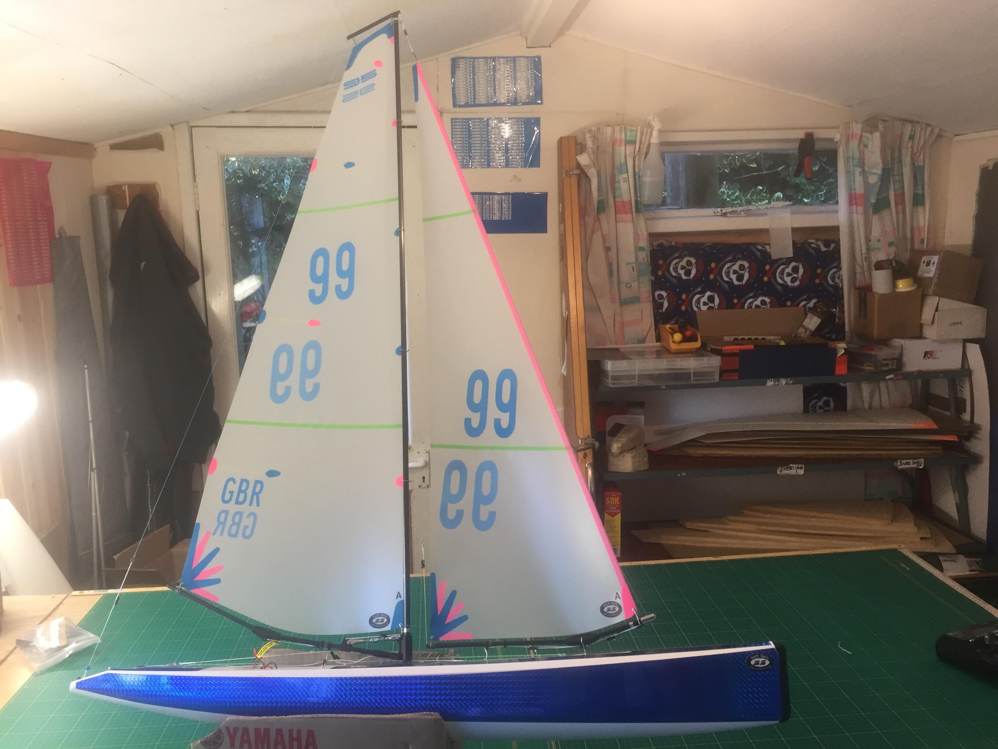 Df95 Sails Mylar Film Soch Sails