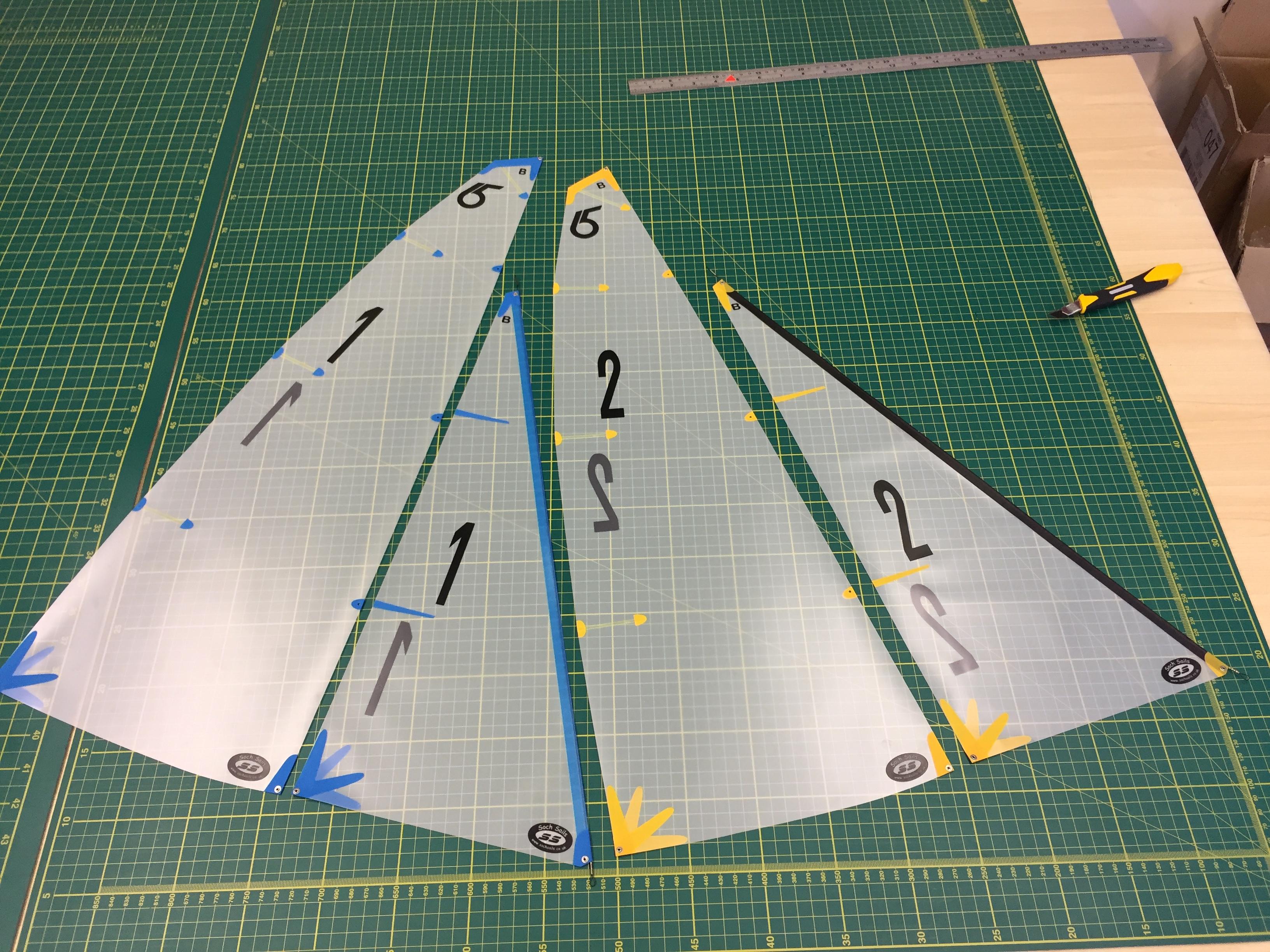 Df65 Sails Mylar Film Soch Sails